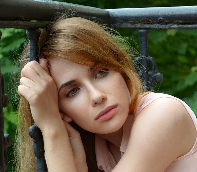 low libido victim - sad woman