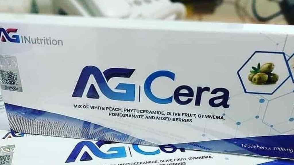 a box of ag cera supplement - ag cera marketing plan