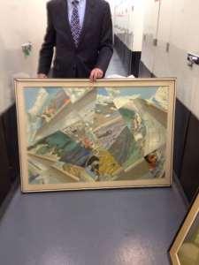 Des tableaux de Douglas Gorsline découverts à New-York