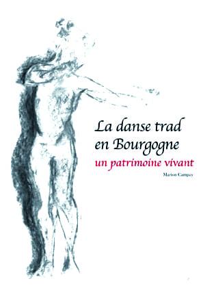 Affiche livre Danse trad