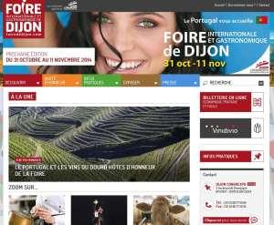 Dijon: la foire en un clic