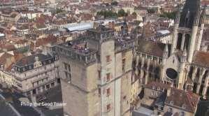 Dijon vue du ciel: le drone livre sa version définitive