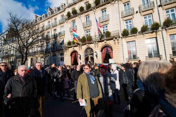 Rassemblement républicain - Charlie Hebdo © Clement Bonvalot