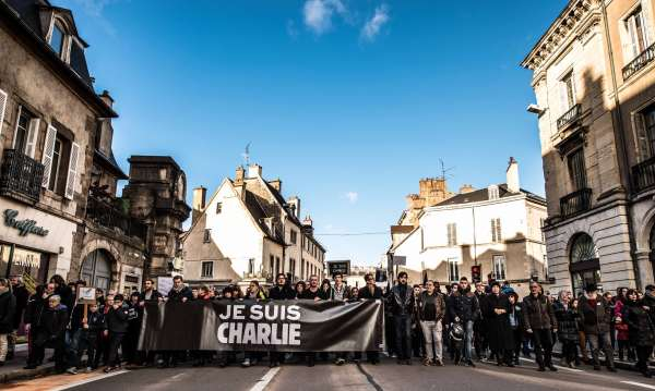 Rassemblement républicain - Charlie Hebdo © Clement Bonvalot-20