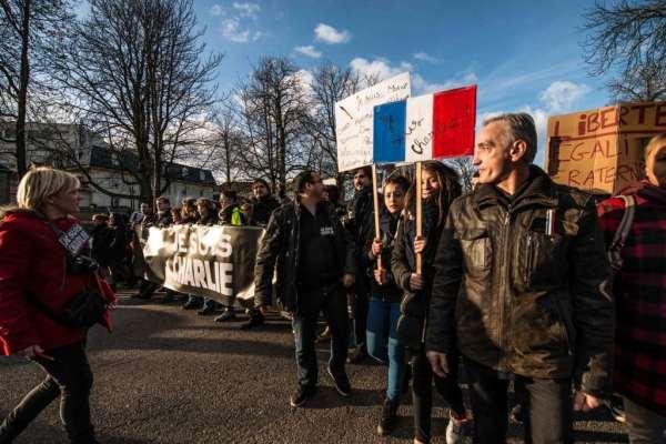 Rassemblement républicain - Charlie Hebdo © Clement Bonvalot-32