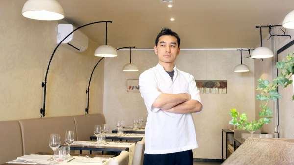 Chef Keigo Kimura - Restaurant l'Asperule (Auxerre) - photo DR