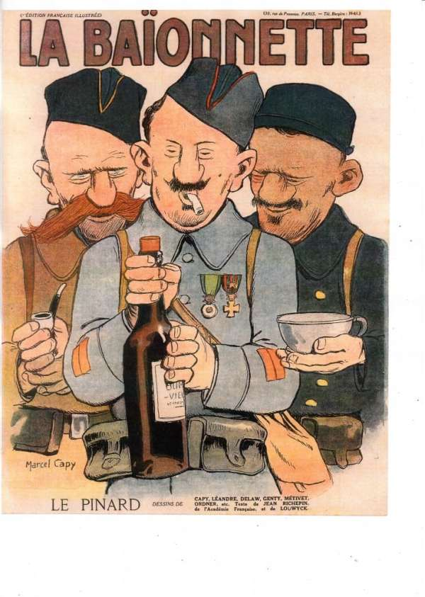22- La Baïonnette, n°76, 14 décembre 1916