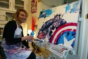 Mademoiselle Bouche, une artiste Dijonnaise entre Bowie, Flash et Drouot