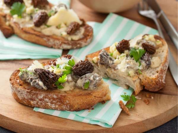 croutes-aux-morilles-et-cheddar