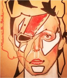 David Bowie Melle Bouche