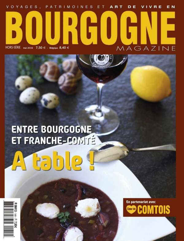 Couverture de Bourgogne Magazine