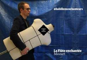 L'Opéra de Dijon cherche à vêtir ses chanteurs (vidéo)
