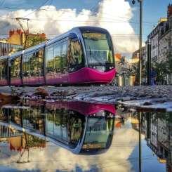 Le tramway dijonnais actuel © G.BOURHIS