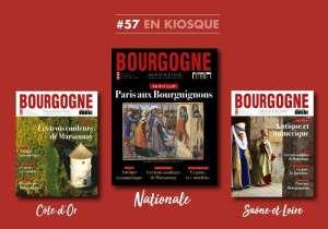 Bourgogne Magazine célèbre Marsannay, Autun et Jean sans Peur