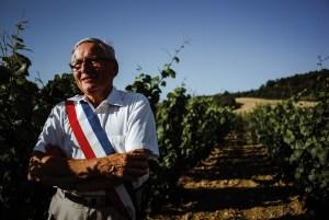Gilbert Menut, maire-exploitant viticole