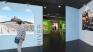Mâcon Salle exposition avec personnages © BIVB RBC Architecture