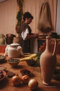 Le MuséoParc Alésia dresse la table à la romaine