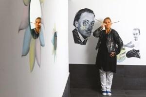 Avec Véronique Barrillot, Orvitis décore Talant