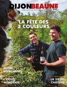Dijon-Beaune Mag 75 en trois couleurs