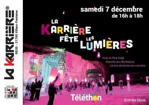La Karrière de Villars-Fontaine fête les lumières