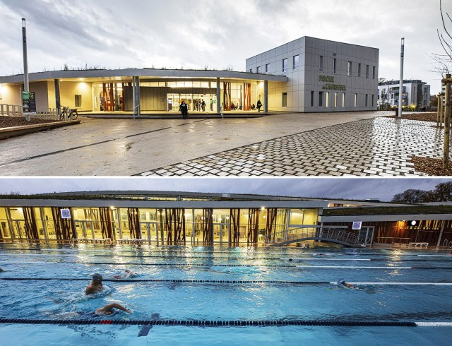 La piscine du Carrousel à Dijon