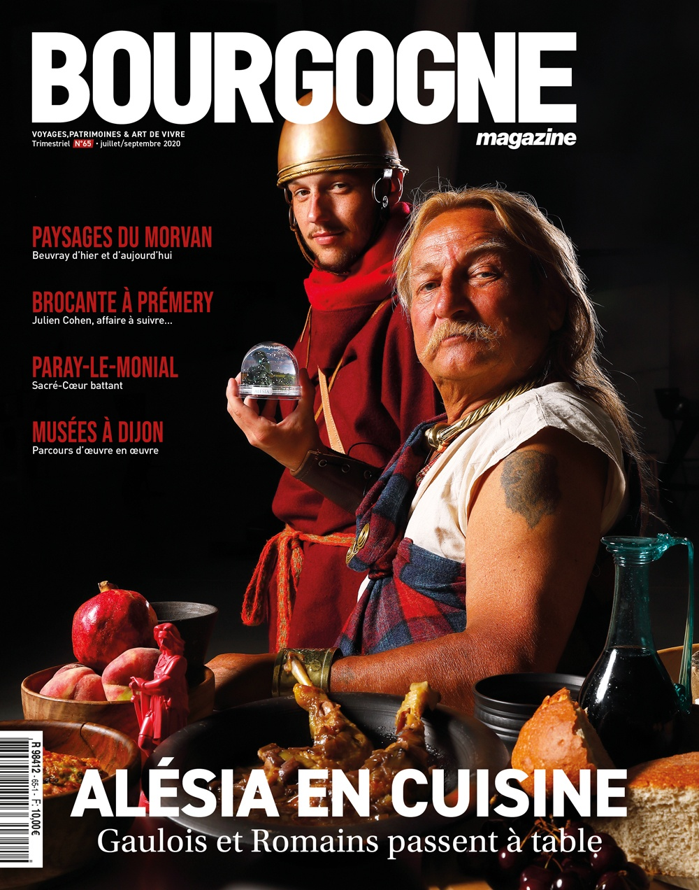 Couverture Bourgogne Magazine n°65