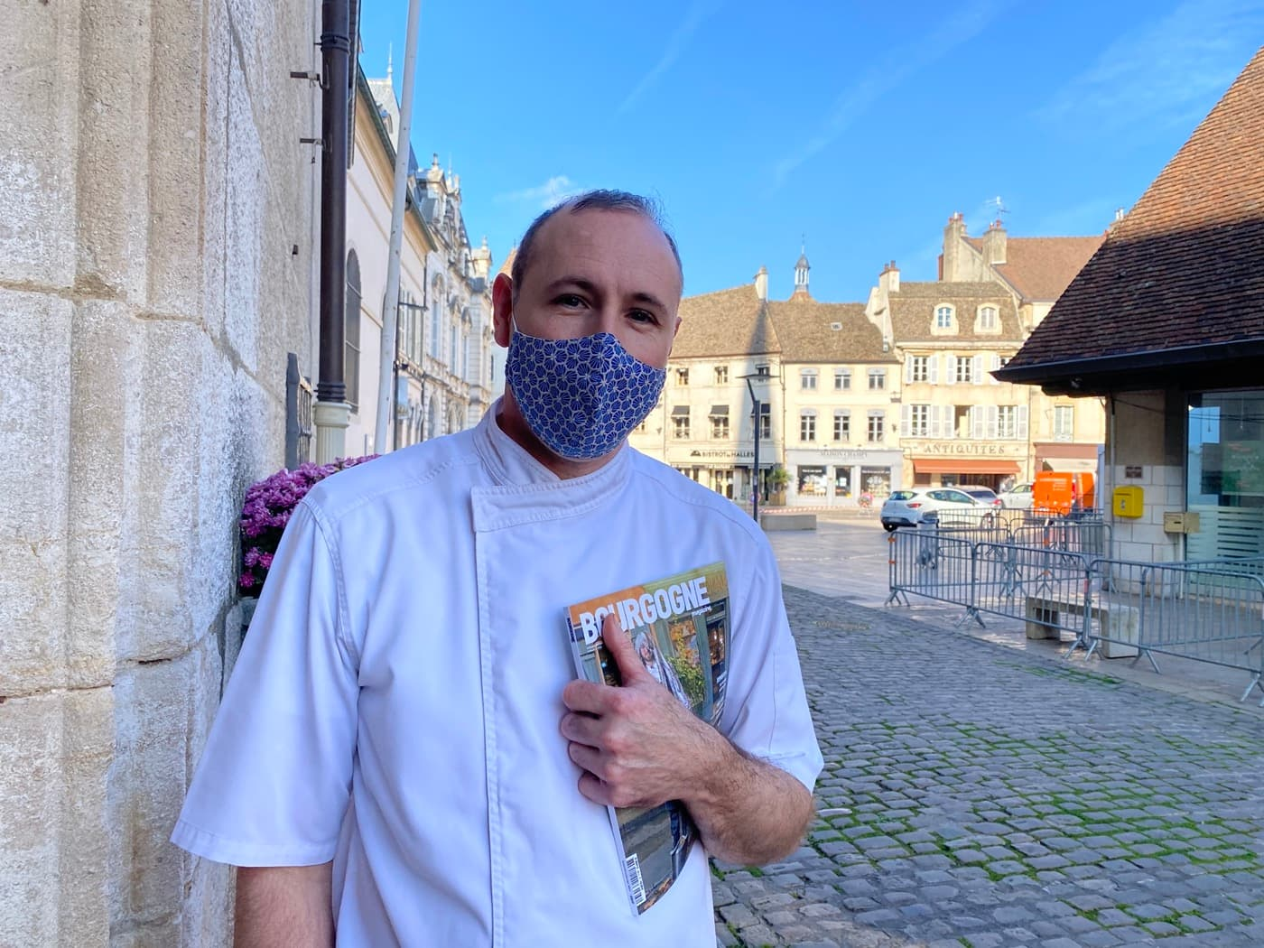Christophe Quéant, chef étoilé du Carmin à Beaune