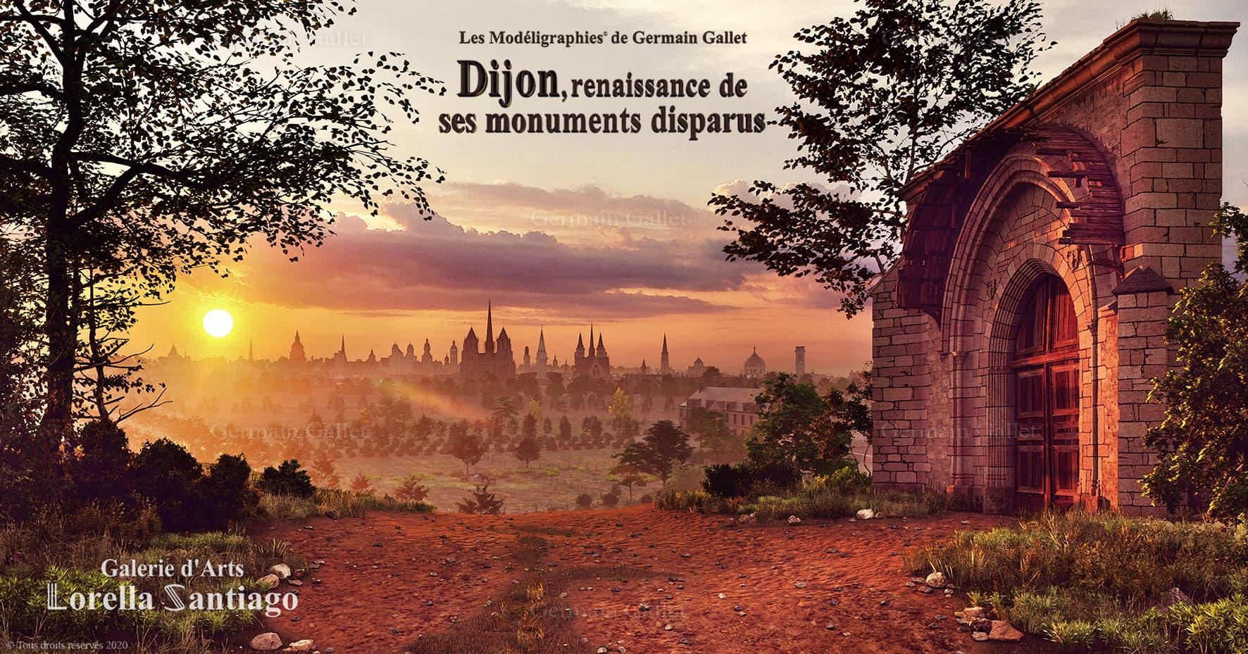 Dijon depuis Champmol
