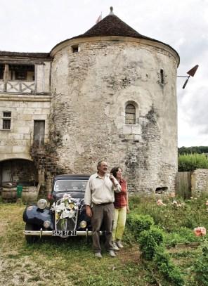 Jean-Philippe Guerra est aussi un passionné de voitures anciennes. Avec ses mots de passionnés et la complicité d'Eliane, il sauront vous faire aimer Gurgy et sa tumultueuse histoire. ©Christophe Remondière