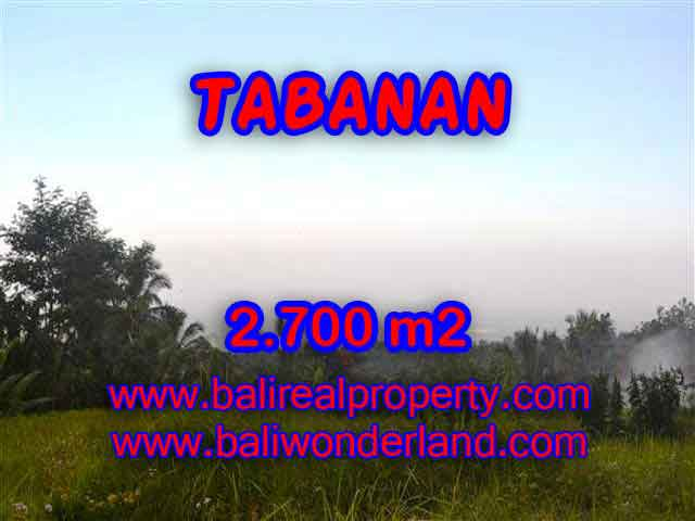 Jual Tanah murah di TABANAN TJTB128 - Kesempatan investasi property di Bali