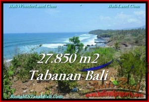TANAH DIJUAL MURAH di TABANAN 278.5 Are di Tabanan Selemadeg