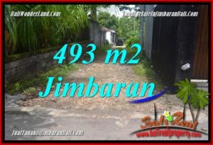JUAL MURAH TANAH di JIMBARAN 493 m2 Lingkungan Villa,View laut