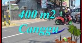 JUAL TANAH di CANGGU 400 m2 di CANGGU BRAWA