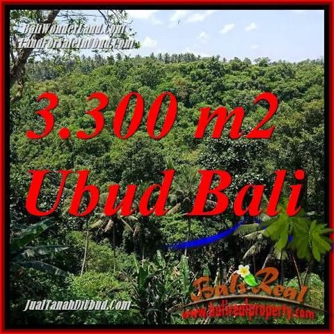 JUAL Tanah di Ubud Bali 3,300 m2 di Sentral Ubud
