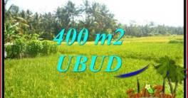 Tanah Murah di Ubud Bali Dijual 400 m2 View Sawah