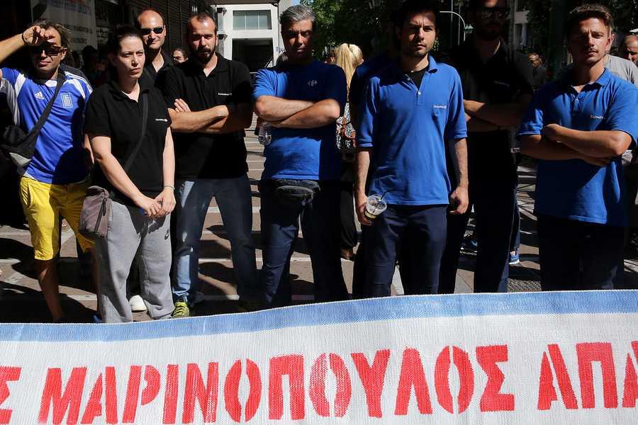 Κόντρα εργαζομένων της Μαρινόπουλος με Νεφελούδη