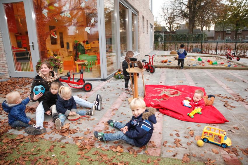 Kinderopvang peutergroepen 2-4 jaar in Acht Eindhoven