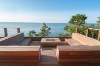 backyard-fire-pit-ideas-Deck-Contemporary-with-bench ...