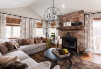 cowhide-pillows-Bedroom-Traditional-with-bedroom-seating ...