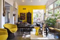 African Daybed for Mediterranean Living Room and Pillows ...