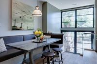 Modern Banquette Seating for Contemporary Dining Room and ...