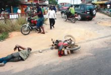 DFM Accident at THE UNFORTUNATE HAS HAPPENED AT MALLAM JUNCTION