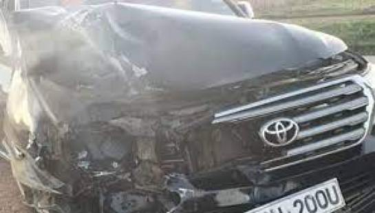 MP ESCAPES ACCIDENT