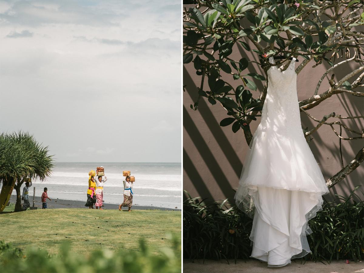 Bali Wedding Destination  Rachael  Peter at Alila Villas