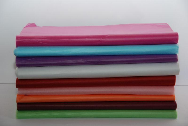 ניירות משי צבעוניים