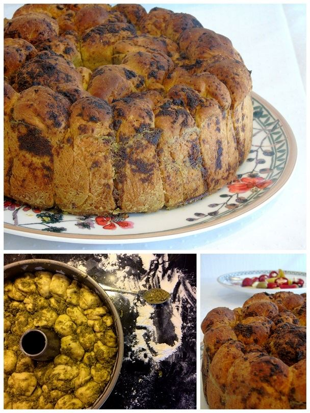 Monkey-Bread-Pesto