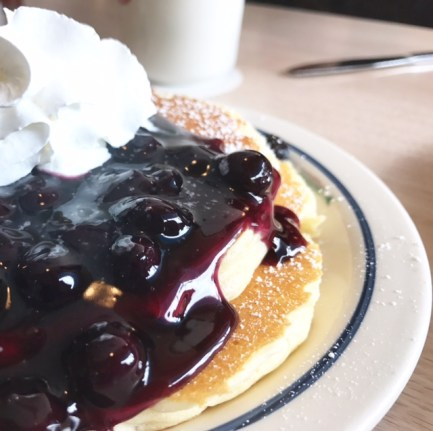 Blueberry-Pancake | Ihop