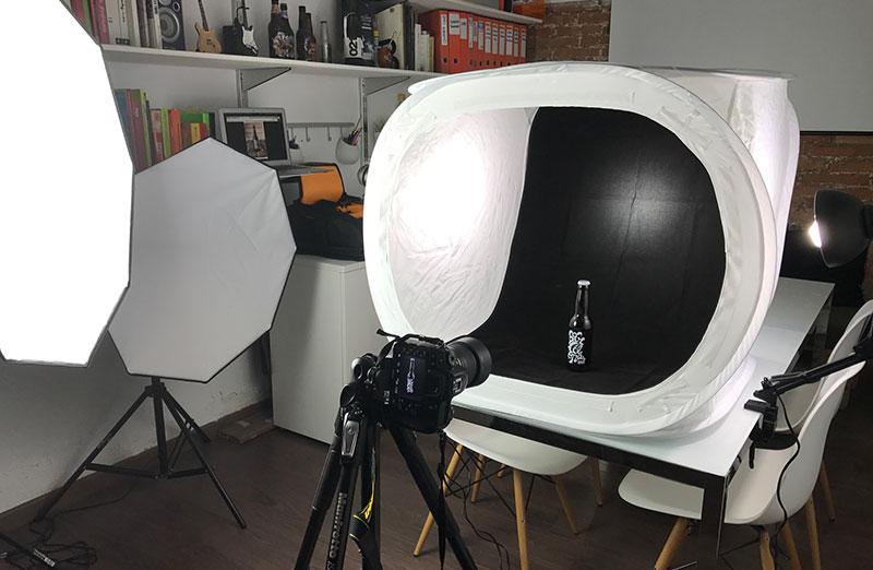 Iluminacin para la fotografa de producto esquemas y