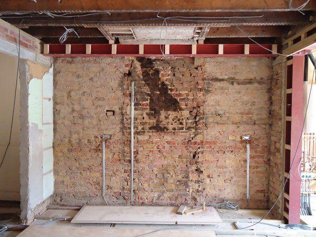 Chimney Breast Removal Building Contractors London