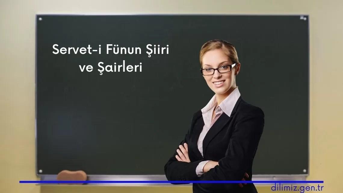 Servet-i Fünun Şiiri ve Şairleri